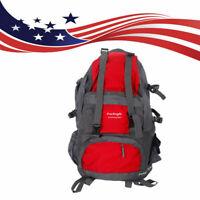 50L Outdoor Hiking Backpack Hiking Shoulders Bag Travel Waterproof Rucksack