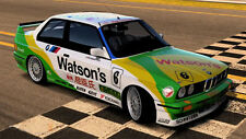1/10 BMW M3 Watsons RC Body wing decal for Evo E30 ETCC DTM WTCC Touring Car