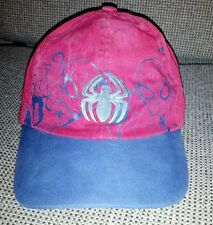 Universal Studio Marvel Spiderman Multicolored cap hat Youth