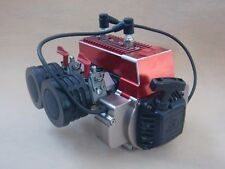 60CC Gas 2 Cylinder Engine Motor May For KM HPI Baja Losi 5ive-T DBXL 5ive-B RC