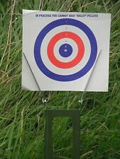 Field Zeroing Target Holder for air gun rifle pistol: light & compact Gamo BSA