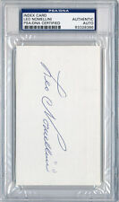 PSA/DNA SIGNED INDEX CARD  LEO NOMELLINI   8386