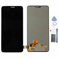 Für OnePlus 6 LCD Display Touchscreen Bildschirm Digitizer Assembly Kit Schwarz