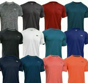 Under Armour Men's Short Sleeve Tee Shirt Sports-style T-Shirt Tops Cotton M L