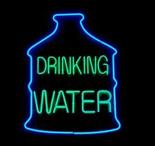 """New Save Water Drink Champagne Acrylic Bar Decor Pub Poster Neon Light Sign 24/"""""""