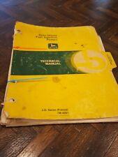 Vintage John Deere Technical Manual #4281 Roto Diesel Fuel Injection Pumps