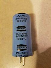 Teapo capacitor 130 uf 200v