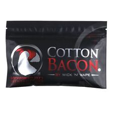 Cotton Bacon V2 Version 2.0 By Wick 'N' Vap/e Organic Wicking Material   B