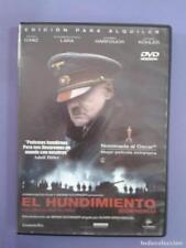 !!! EL HUNDIMIENTO  !!!  PRECINTADA ***  EDIC. EN ESPAÑOL
