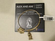 ALEX AND ANI - BRACELET - CHARITY BY DESIGN - THE KNIGHT - GOLD - NWT
