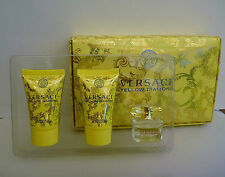 1x VERSACE Yellow Diamond Eau De Toilette Perfume Gift Box Set, Brand NEW!