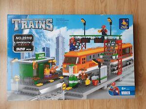 Ausini Railroad Trains Building Blocks - 928 Pieces (25110) 6+ Yrs