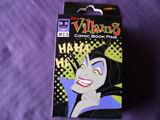Disney * VILLAINS * Comic Book Style * New & Sealed 2-Pin Mystery Box