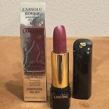 NIB Lancome L'Absolu Rouge Advanced Hydrating Lipstick #185 Aubergine Velvet