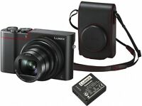 Panasonic LUMIX DMC-TZ100KITEB-R 4K Camera 25mm wide angle Lens 10X, 20.1 MP