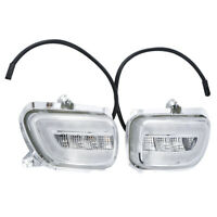 FOR Honda Goldwing GL1800 2001-2017 04 05 06 Front LED Turn Signals Clear Lens