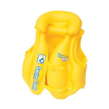 Bestway One Swim Vest Step B Brightly Colored Inflatable Buckle 3-6yrs 32034E