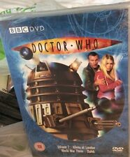 DR WHO VOLUME 2 ALIENS of London -WORLD WAR THREE-DALEK DVD Sealed