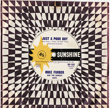 MIKE FURBER - JUST A POOR BOY  Megarare 1966 OZ GARAGE/FREAKBEAT Single! EX-