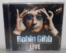 CD ROBIN GIBB - LIVE - NUOVO NEW