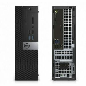 Barebone PC Dell PC Desktop 3050 SFF DDR4  For 7th gen HDMI NO RAM NO HDD NO CPU