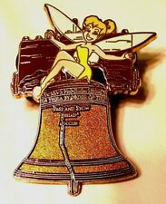 Disney's Tinker Bell with Liberty Bell LE 250 Pin