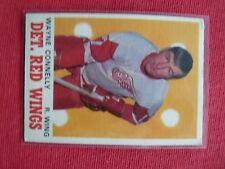 VINTAGE HOCKEY CARD O PEE CHE 1970-71 WAYNE CONNELLY DETROIT RED WINGS  EXC