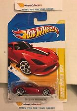 2013 Viper SRT #11 * RED * PREMIERE Card * 2012 Hot Wheels * Y57