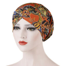 Women Printed Hair Loss Scarf Cancer Chemo Cap Muslim Turban Hat Hijab Head Wrap