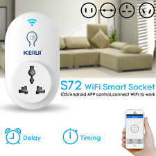 KERUI Smart WiFi Remote Control Timer / Delay Socket Outlet Switch,APP Control