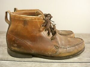 Vintage GOKEY SAUVAGE HIKERS Boots Men's Leather Hunting Chukka Hiking Boots 9.5