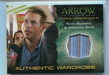 Arrow Season 2 Wardrobe Card #M19 - Kevin Alejandro as Sebastian Blood