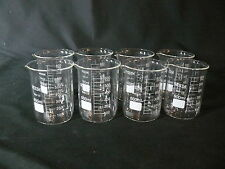 600 ml Borosilicate Glass Beakers (Set of 8)