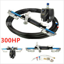 Outboard Boat Hydraulic Steering System Marine Steering Cylinder Helm Kit 300HP