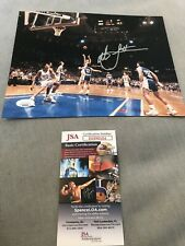Autographed Chriistian Laettner 8x10 Photo The Shot JSA Certified Signed