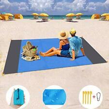 Beach Blanket Waterproof Beach Mat Sand Proof Beach Blanket Picnic Mat