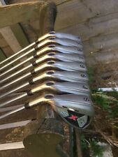 left handed golf clubs iron set