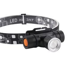 BORUiT® 30W XM-L2 LED USB Stirnlampe Kopf lampe Laufen Taschenlampe Arbeitslampe