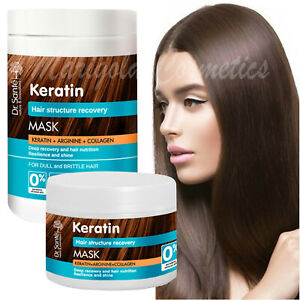 Dr Sante KERATIN Collagen REPAIR MASK Damaged Dry PROTEIN HAIR TREATMENT Growth
