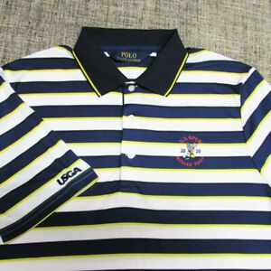 POLO RALPH LAUREN POLY GOLF SHIRT--M--2020 US OPEN WINGED FOOT--TOP QUALITY