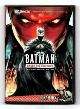 COFFRET 2 DVD / BATMAN UNDER THE RED HOOD / DC COMICS COMME NEUF (ZONE 1)