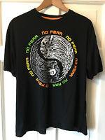 Men's Large Black NO FEAR T-Shirt