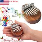Mini 8 Keys Kalimba Thumb Piano Finger Percussion Pocket Musical Tool Xmas Gift