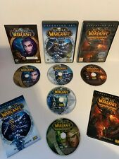 World Of Warcraft PC Games Bundle - Lich King, Cataclysm, Burning Crusade, WOW