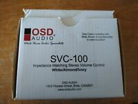 OSD Audio Impedance Matching Stereo Volume Control SVC-100/Amplifier Dial Adjust