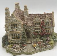Lilliput Lane Armada Cottage Beautiful Flowers Large Made In Cumbria England