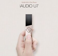 COWON iAudio U7 Portable Spy USB Mp3 Player Radio Voice Recorder- OLED 16gb/gold