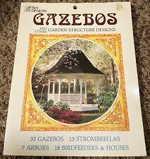 "Sun Designs ""Gazebos And Other Garden Structure Designs"" (1983, Trade Paperback)"