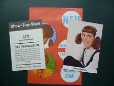 Sammelbilder Karten : Haide  Hansson  Bergmann-Verlag Show Top Stars figurina