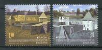 Bosnia & Herzegovina Serbia Admin 2017 MNH Castles Europa 2v Set Stamps
